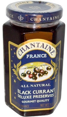 Fruit Spread, Chantaine® Black Currant Deluxe Preserves (11.5 oz Jar)