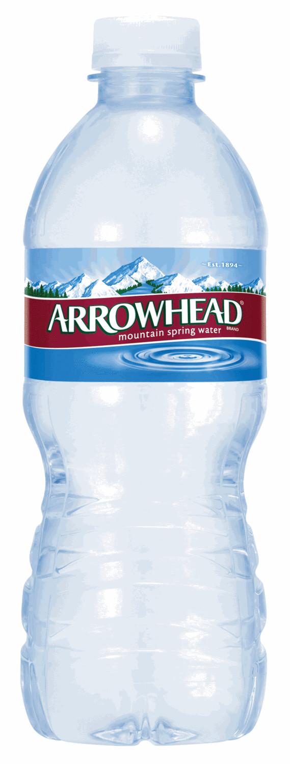 Drinking Water, Arrowhead® 100% Mountain Spring Drinking Water (16.9 oz Bottle)