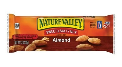 Snack Bar, Nature Valley® Sweet & Salty Almond Granola Bar (1.2 oz Bag)