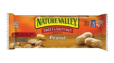 Snack Bar, Nature Valley® Sweet & Salty Peanut Nut Granola Bar (1.2 oz Bag)