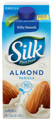 Almond Milk, Silk® Vanilla Almond Milk (½ Gallon Carton)