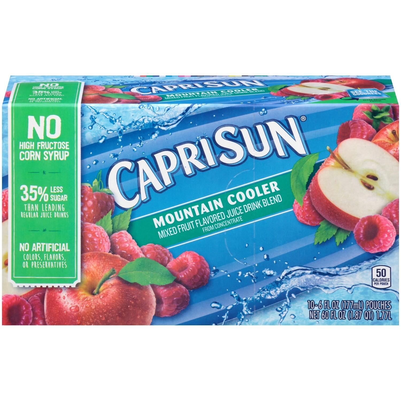 Juice Drink, Capri Sun® Mountain Cooler, Single 6 oz Packet