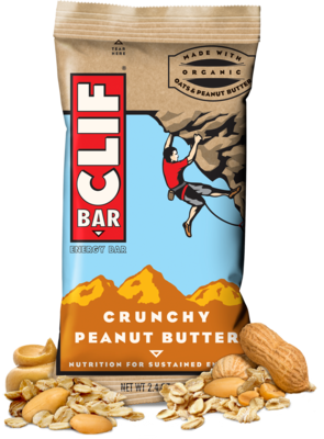 Energy Bars, CLIF® Crunchy Peanut Butter Energy Bar (2.4 oz Bag)