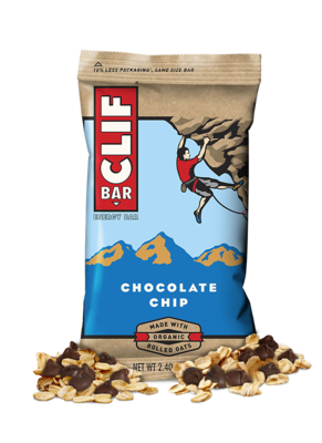 Energy Bars, CLIF® Chocolate Chip Energy Bar (2.4 oz Bag)