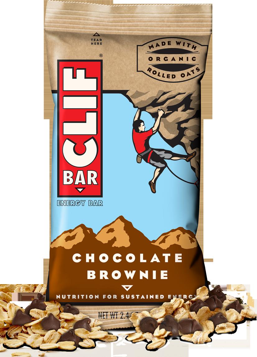 Energy Bars, CLIF® Chocolate Brownie Energy Bar (2.4 oz Bag)