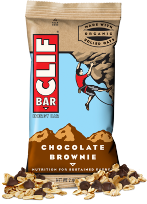 Energy Bars, CLIF® Chocolate Brownie Energy Bar (2.4 oz Bag)