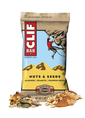 Energy Bars, CLIF® Nuts & Seeds Energy Bar (2.4 oz Bag)