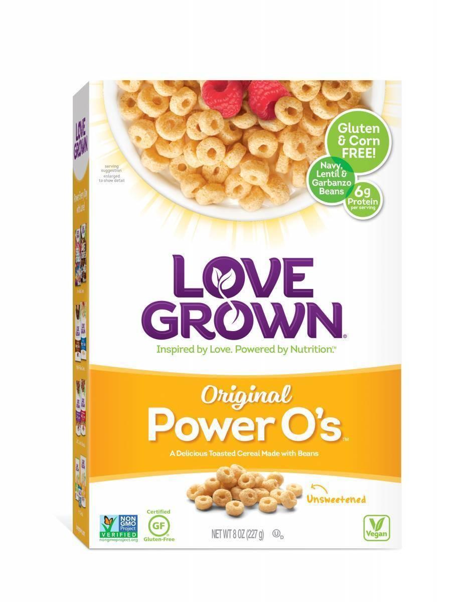 Cereal, Love Grown® Power O's™ Original Cereal (8 oz Box)