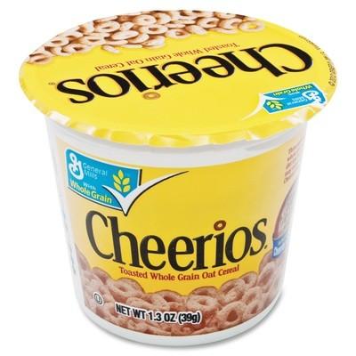 Cereal, General Mills® Cheerios® Cereal (1.3 oz Cup)