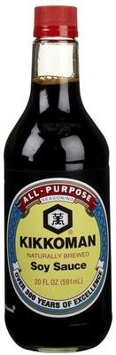 Soy Sauce, Kikkoman® Soy Sauce (10 oz Bottle)
