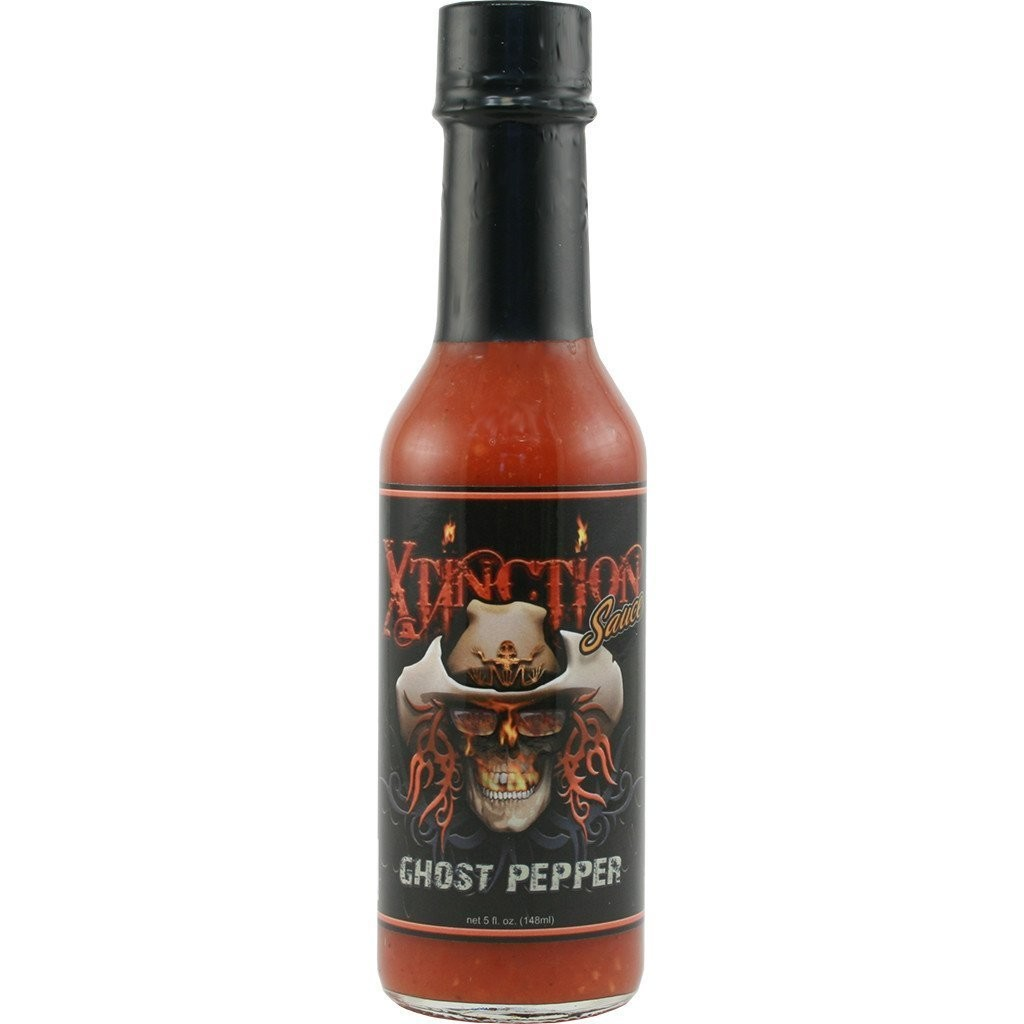 Hot Sauce, Golden Toad® Xtinction Sauce with Ghost Pepper, 5 oz Bottle