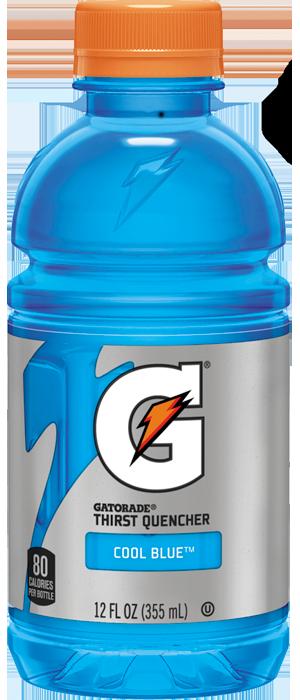 Energy Drink, Gatorade® Cool Blue Energy Drink (Single 12 oz Bottle)
