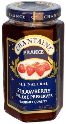 Fruit Spread, Chantaine® Strawberry Deluxe Preserves (11.5 oz Jar)