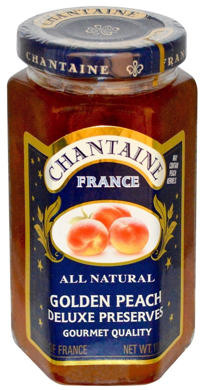 Fruit Spread, Chantaine® Golden Peach Deluxe Preserves (11.5 oz Jar)