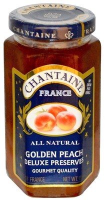 Fruit Spread, Chantaine® Golden Peach Deluxe Preserves (11.5 oz Jar)