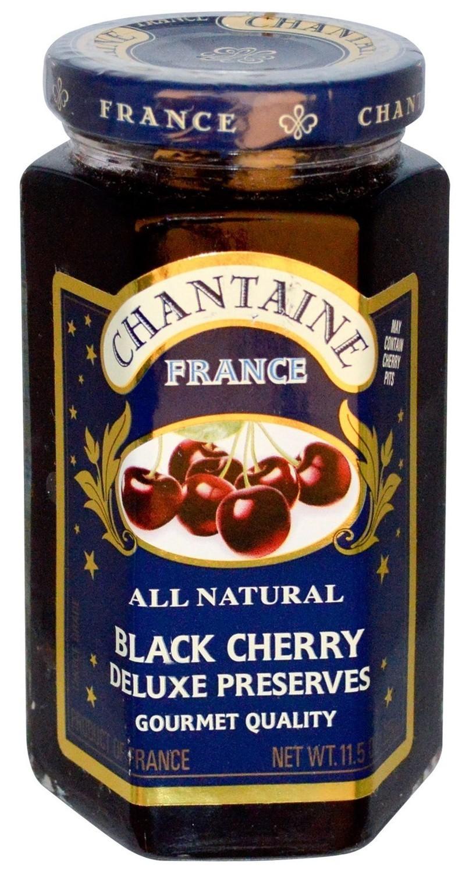 Fruit Spread, Chantaine® Black Cherry Deluxe Preserves (11.5 oz Jar)