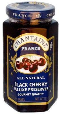 Fruit Spread, Chantaine® Black Cherry Deluxe Preserves (11.5 oz Jar)
