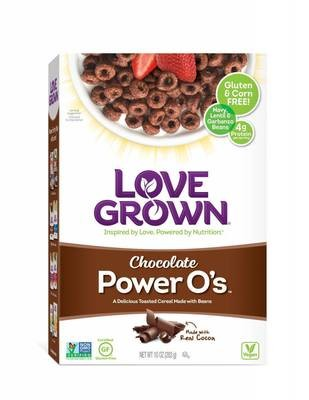 Cereal, Love Grown® Power O's™ Chocolate Cereal (10 oz Box)