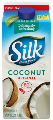 Coconut Milk, Silk® Original Coconut Milk (½ Gallon Carton)