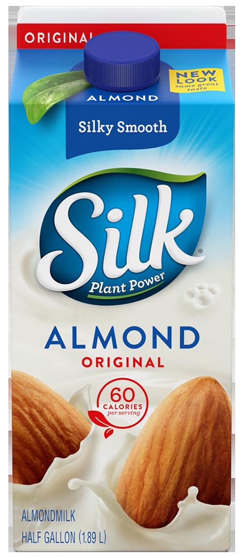 Almond Milk, Silk® Original Almond Milk (½ Gallon Carton)