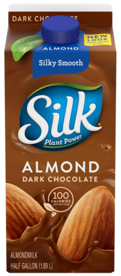 Almond Milk, Silk® Chocolate Almond Milk (½ Gallon Carton)