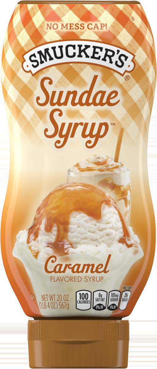 Syrup, Smucker's® Butterscotch Sundae Syrup (20 oz Bottle)