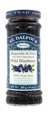 Fruit Spread, St. Dalfour® Wild Blueberry (10 oz Jar)