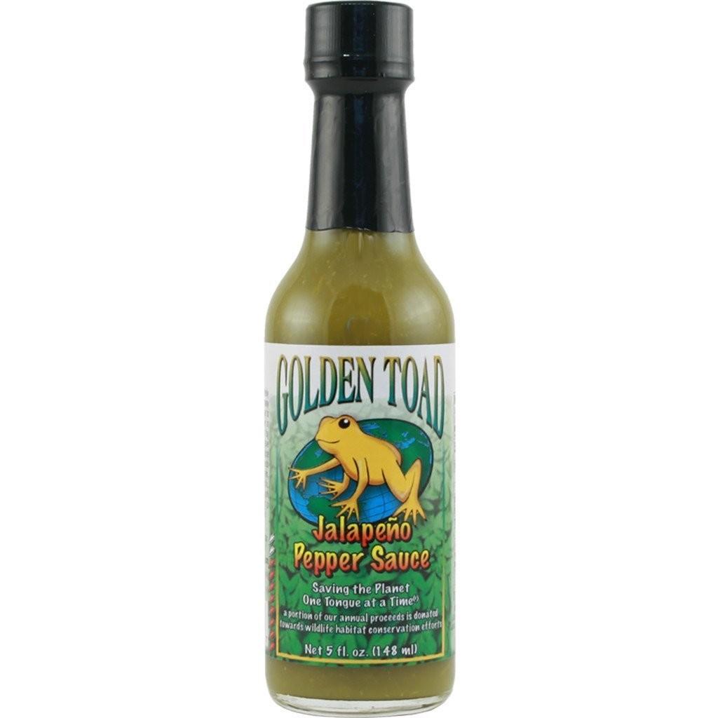 Hot Sauce, Golden Toad® Jalapeño Pepper Hot Sauce, 5 oz Bottle