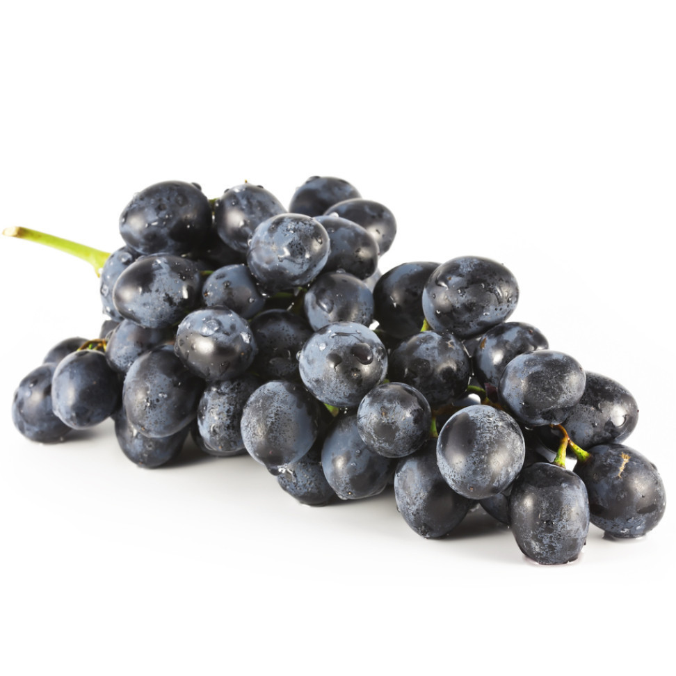 Fresh Grapes, Black Grapes (16 oz Bag)