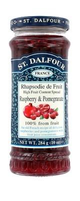 Fruit Spread, St. Dalfour® Raspberry and Pomegranate (10 oz Jar)