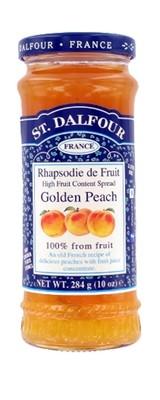 Fruit Spread, St. Dalfour® Golden Peach (10 oz Jar)