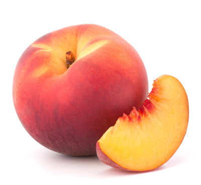 Fresh Peaches, Organic Yellow Peaches (Priced Each)