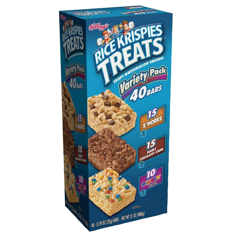 Kellogg's Rice Krispies Treats, Variety Pack