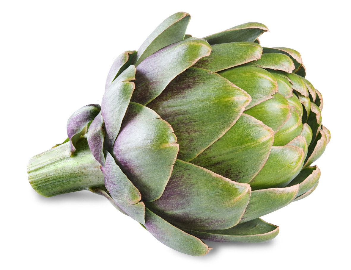 Produce, Vegetable, Artichoke, Organic, Priced Each