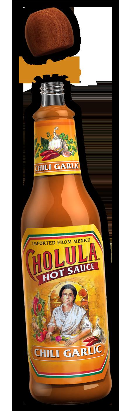 Hot Sauce, Cholula® Chili Garlic Hot Sauce (5 oz Bottle)