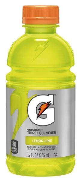 Energy Drink, Gatorade® Lemon Lime Energy Drink (Single 12 oz Bottle)