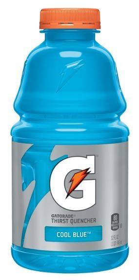 Energy Drink, Gatorade® Cool Blue (20 oz Bottle)