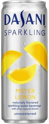 Sparkling Water, Dasani® Sparkling Lemon Flavored Water (Single 12 oz Can)