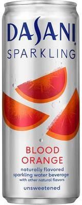 Sparkling Water, Dasani® Sparkling Blood Orange Flavored Water (Single 12 oz Can)
