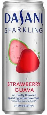 Sparkling Water, Dasani® Sparkling Strawberry Guava Flavored Water (Single 12 oz Can)