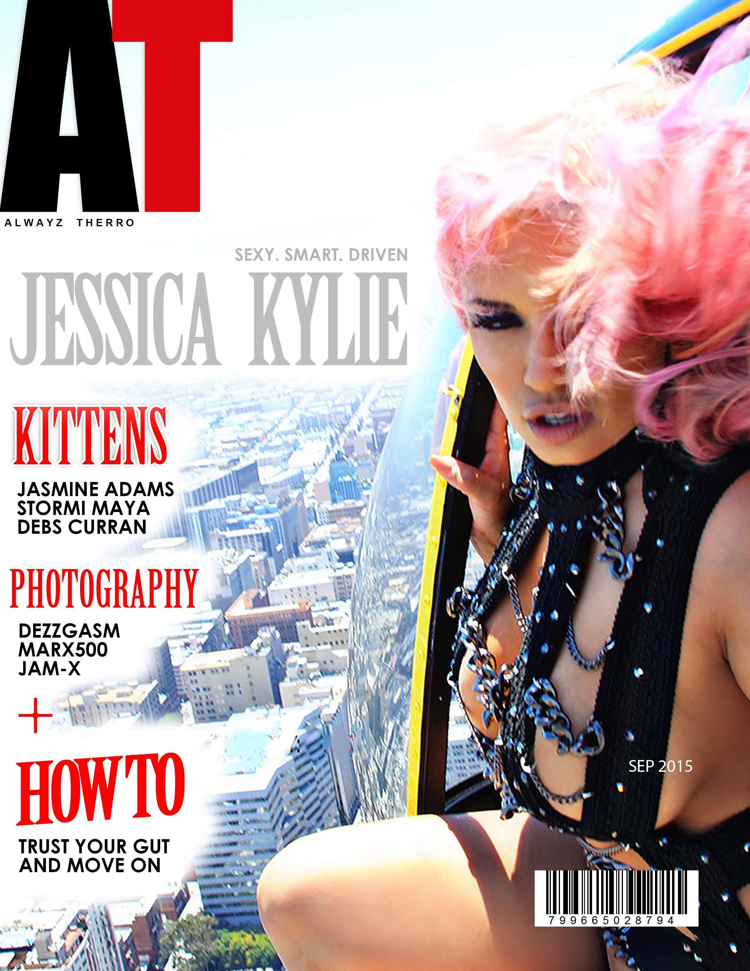 Jessica Kylie's Autographed Alwayz Therro Magazine jkmag006