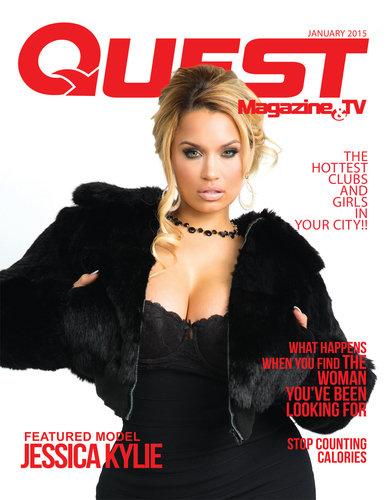 Jessica Kylie's Autographed Quest Magazine jkmag007