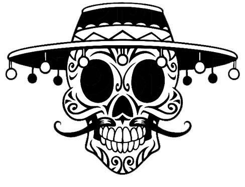 Sugar Skull Shirt 00034
