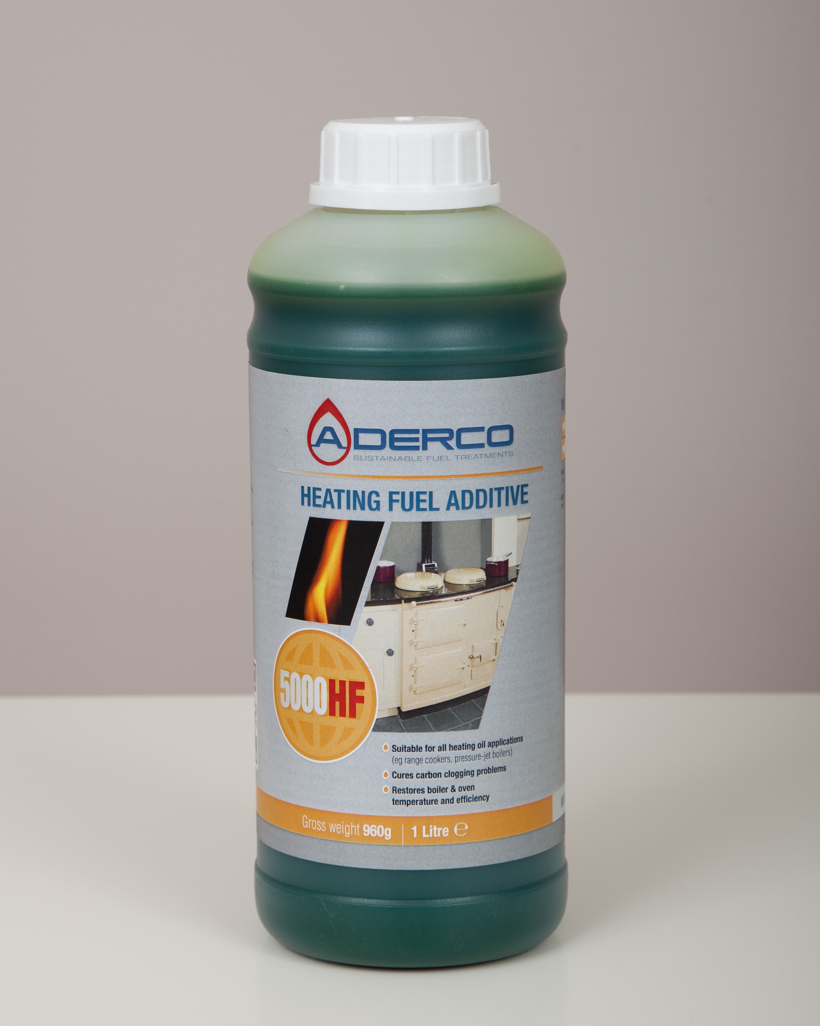 ADERCO 5000 Heating Fuel Additive 12 x 1 litre bottles (box) AD5000-CART