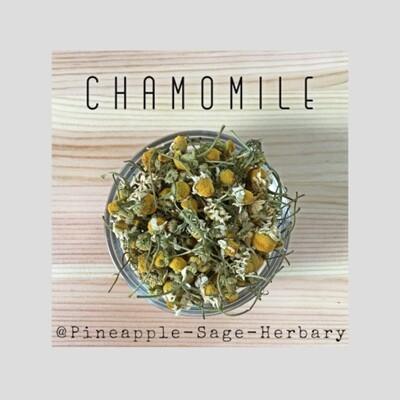 Chamomile Flowers - Organic: 50g