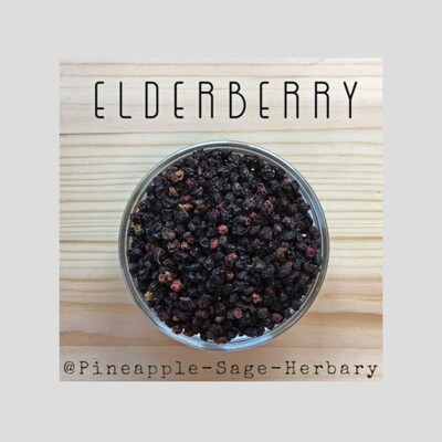 Elderberries - Organic: 50g