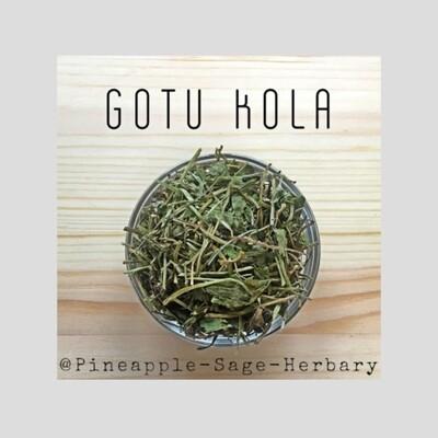 Gotu Kola Leaves - Organic: 25g