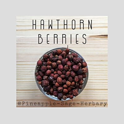 Hawthorn Berries - Organic: 50g