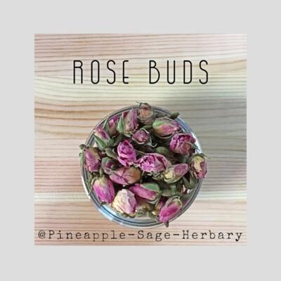 Rose Buds - Organic: 50g