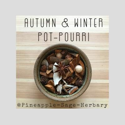 Autumn-Winter Pot Pourri: 100g